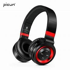 Picun Wireless Bluetooth Headphone Stereo Bass by Picun P6 Wireless Headphones Bluetooth Headphone With Mic