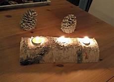 Weihnachtsdeko Aus Holz Selbst Gemacht - holz teelichthalter basteln der wohnsinn