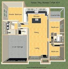plan 1517 tiny house plan by texas tiny homes