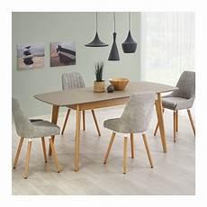Table Scandinave Bois Et Gris Mat Pour Une Salle 224 Manger