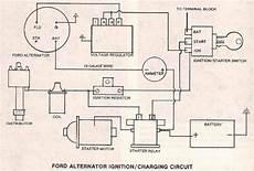 Ford Alternator W External Regulator The H A M B
