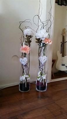 my own creation glasvasen dekorieren bodenvase