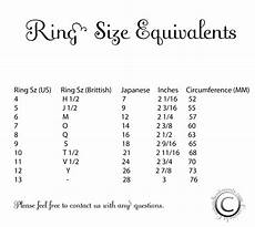 luxury wedding ring size chart matvuk com
