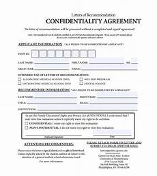 7 confidentiality agreement templates fine word templates