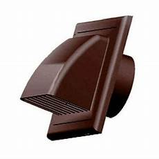 Kitchen Extractor Fan No External Wall by Brown Gravity Flap 100mm 4 Quot External Ducting Ventilation