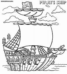 pirate ship coloring pages coloring pages to