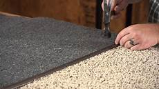 how to install a metal carpet threshold carpet