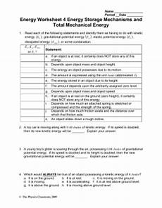pictures work energy and power worksheet answers easy