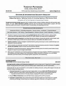 information security analyst resume printable planner