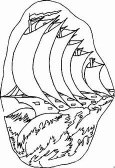 Gratis Malvorlagen Segelschiffe Segelschiffe 2 Ausmalbild Malvorlage Sonstiges