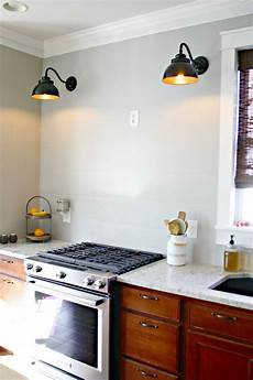 wall lights for the kitchen a diy ish wood vent hood from thrifty decor chick