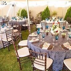 wedding decor for a sotho wedding shweshwe traditional