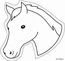 Ausmalbilder Pferde Geburtstag Ausschneiden Pferde 1 Ausmalbilder Malvorlagen