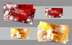 2016 merry christmas business cards vectors free download