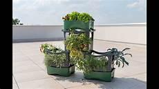 u greeny stapelbares balkon hochbeet f 252 r kleine r 228 ume