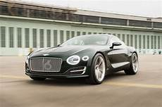 World Exclusive At The Wheel Of The Bentley Exp 10 Speed 6