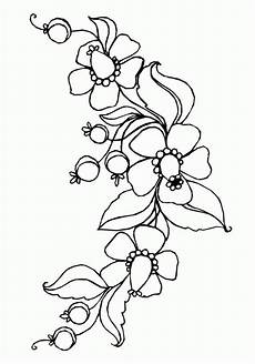 page flowers to print out coloring pages