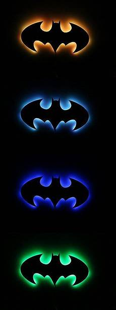 tags and charms 177790 lighted batman sign l acrylic light and wall art for fans