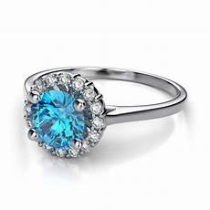 blue diamond engagement rings meaning gemstone engagement rings halo diamond engagement ring