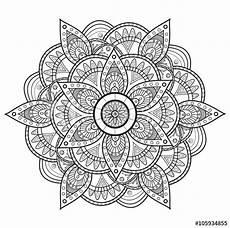 mandala coloring pages hd 17924 black and white mandala vector mandala in bianco e nero da colorare vettoriale buy this stock