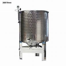 cuve en inox cuve inox garde vin 300 l compl 232 te tom press