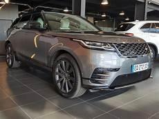 land rover velar occasion land rover range rover velar occasion diesel gris 2017