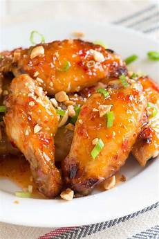 sweet chili baked chicken wings recipe