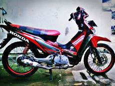 Motor Supra X 125 Modifikasi by Motor Supra X 125 Antik Racing Supra X 125 Modifikasi