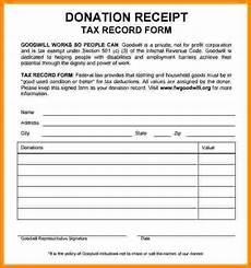 5 goodwill tax receipt form restaurant receipt