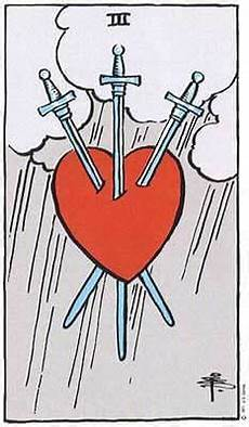 Tarot Karte Liebe - three of swords meaning tarot card meanings labyrinthos