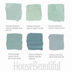 decorating around the color green blue green paints