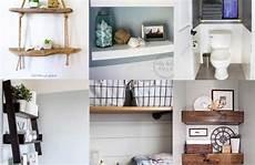 Bathroom Ideas For On The Shelf by Bathroom Shelf Ideas 15 Clever Diy Bathroom Shelves For