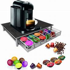 36 coffee pod holder drawer machine stand kcup nescafe