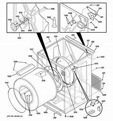 ge electric dryer parts diagram i a spacemaker dryer dsxh47 when changing the light