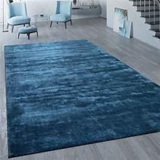 Teppich Kurzflor 140x200 - kurzflor teppich unifarben blau teppich de