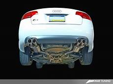 awe tuning touring edition exhaust for audi b7 s4 polished silver tips etektuning com
