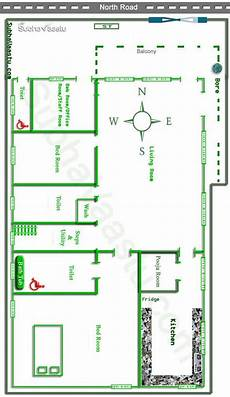 north facing vastu house floor plan