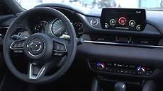 Mazda 6 Innenraum - 2018 mazda6 facelift interior and driving footage