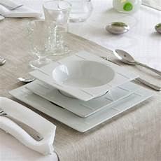 service de table blanc design design en image