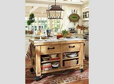 12 Freestanding Kitchen Islands   Rustic kitchen island