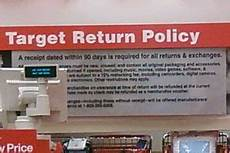 target store return policy no receipt 2018 store deals