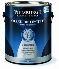 pittsburgh paints stains 174 grand distinction 174 interior paint primer white color family at