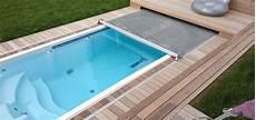 edelstahl pool kaufen swim spas pools mit zwei getrennten temperaturzonen