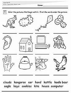 free phonics worksheets letter k 24356 special education worksheets special education and activities