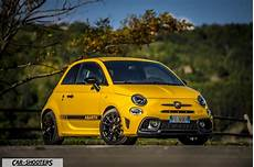 abarth 595 competizione the yellow hatchback review