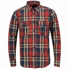 jones vintage s elektro check shirt blue
