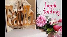 Diy Book Folding B 252 Cher Falten