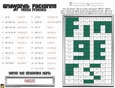 factoring polynomials quot gridwords quot 7 mixed practice by