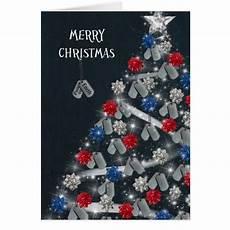 military merry christmas card zazzle