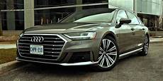 car review 2019 audi a8l driving